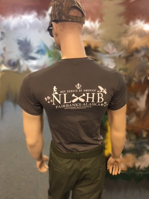 gray NLHB Tshirt back